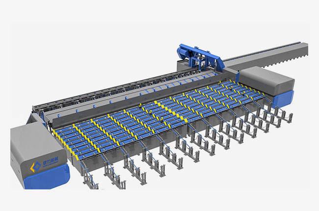 数控钢筋锯切镦粗套丝打磨生产线